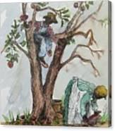 Apple Pickers Canvas Print