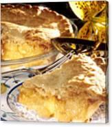 Apple Pie Dessert Canvas Print