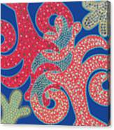 Apple Tree And Cacti Canvas Print