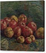 Apples Paris, September - October 1887 Vincent Van Gogh 1853 - 1890 Canvas Print