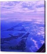 Approaching Bermuda Canvas Print