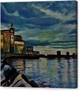 Approaching Nightfall  Canvas Print