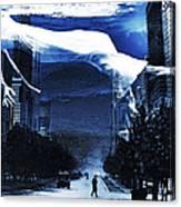 Apres Moi Le Deluge Canvas Print