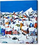 Apres Niege Ste-Adele -Quebec Canvas Print