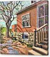 April Afternoon Light Canvas Print