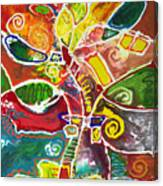 April Bouquet Canvas Print
