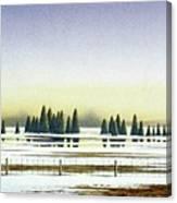 April Evening Canvas Print