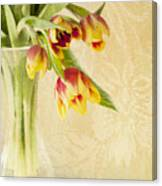 April Flowers Canvas Print