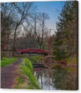 April In Washingtons Crossing Canvas Print