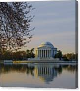 April Morning In Washington Dc Canvas Print