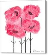 April's Flowers Canvas Print