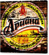 Apuaha Beer Sign Canvas Print