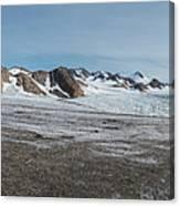 Apusiaquik Glacier Greenalnd Pano 7334-7351 Canvas Print