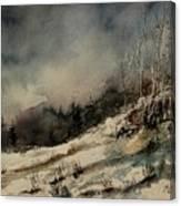 Aqua 051207 Canvas Print