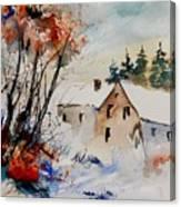 Aqua 905070 Canvas Print
