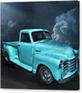 Aqua Blues Canvas Print