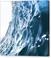 Aqua Ramp - Triptych Part 3 Of 3. Canvas Print