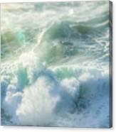 Aqua Surge Canvas Print