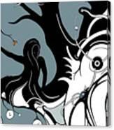 Aqualimb Canvas Print