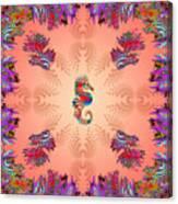 Aquarium Rising Pinks Canvas Print