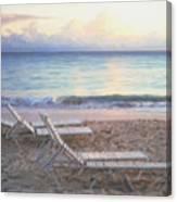 Aruba Beach Sunset Canvas Print