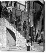 Arab Youths In Bethlehem 1938 Canvas Print
