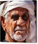Arabian Old Man Canvas Print
