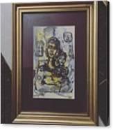Arabic Art Canvas Print