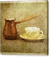 Arabica Coffee Canvas Print