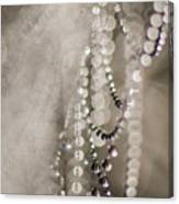 Arachne's Beads Canvas Print