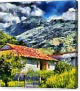 Aragua Valley Canvas Print
