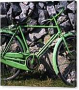 Aran Islands, Co Galway, Ireland Bicycle Canvas Print