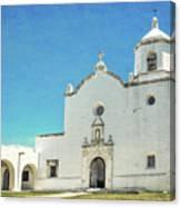 Mission La Bahia Canvas Print