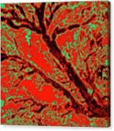 Arboreal Plateau 9 Canvas Print