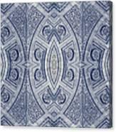 Arc De Triomphe Du Carrosel Paris Kaleidoscope Vertical Canvas Print