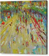 Arc De Triomphe Paris Canvas Print