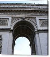 Arc De Triumph In Paris Canvas Print