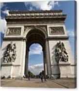 Arc The Triomphe Paris Canvas Print