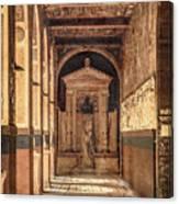 Paris, France - Arcade - L'ecole Des Beaux-arts  Canvas Print