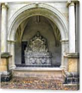 Arch At Fontevraud Abbey  Canvas Print