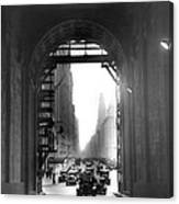 Arch At Grand Central Station Canvas Print