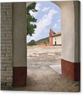 Arch At La Purisima Canvas Print