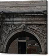 Arch Of Septimius Severus Canvas Print