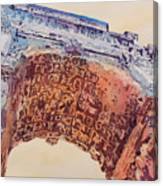 Arch Of Titus Two Canvas Print