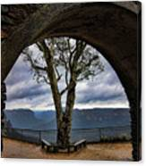 Arch Tree Canvas Print