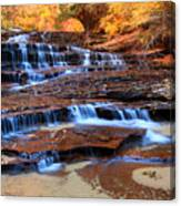 Archangel Falls Canvas Print
