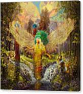 Archangel Haniel Canvas Print