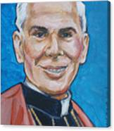 Archbishop Fulton J. Sheen Canvas Print