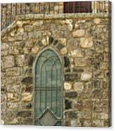 Arched Door And Window Canvas Print