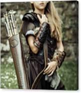 Archer Warrior Canvas Print